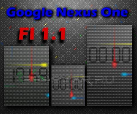 Google Nexus One - Часики для Sony Ericsson