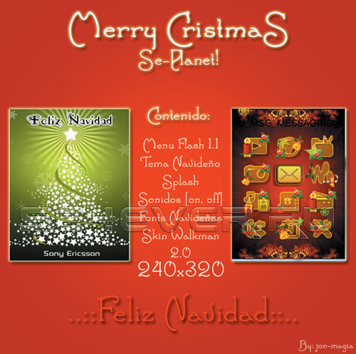 Merry CristmaS! - Mega Pack FL 1.1 240x320