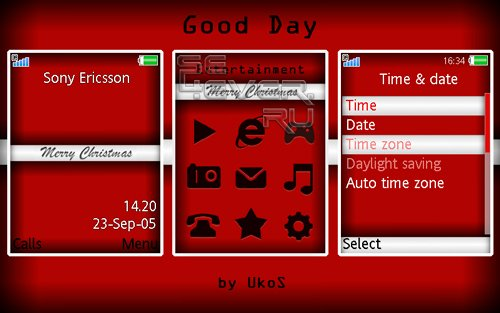 Good Day: Merry Christmas - Flash Theme 1.1
