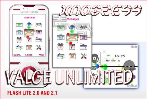 Valge Unlimited - Flash Theme 2.0 & 2.1