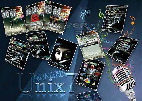 Unix7 - Мега Пак для Sony Ericsson K800i SW-R8BF003