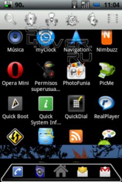 LiveHome - альтернативный рабочий стол для android