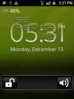 Android 2.3 (Gingerbread) theme for X10 Mini / Pro