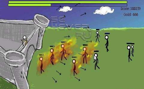 Flick Defense - игра для Android