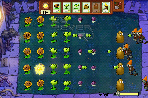 Plants vs Zombies - игра для Android