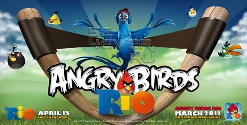 Angry Birds Rio. Ждите в марте!