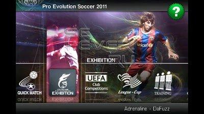 Pro Evolution Soccer 2011 - Скачать игру для Symbian^3