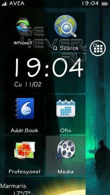 Windows Phone 7 - скин для SPB MobileShell
