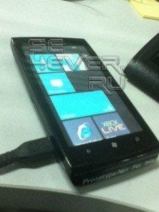 Утек прототип телефона Sony Ericsson на Windows Phone 7