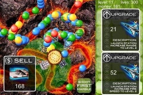 Marbles TD - Игрa для ANDROID