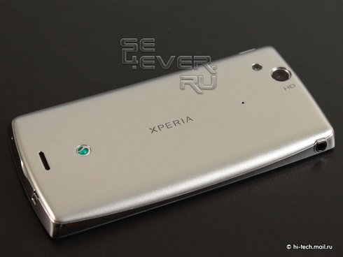 Полный обзор Sony Ericsson Xperia Arc
