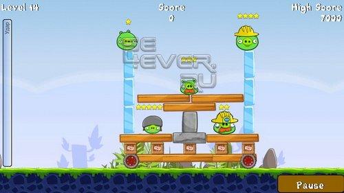 Angry Birds 1.1 Java S60v5 S^3 360x640