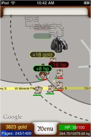 Parallel Kingdom AOE - online бои на карте google