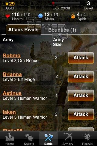 Kingdoms Live стратегия онлайн - игра для ANDROID