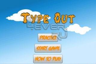 TypeOut - игра на Андроид