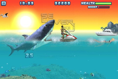 Hungry shark 2 - игра для Android