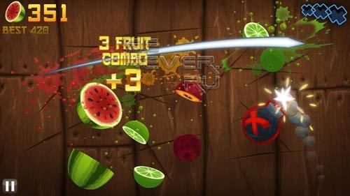 Fruit Ninja THD - Игра для Android (NVIDIA Tegra)