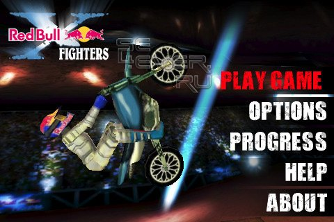 Red Bull X-Fighters - Игра для Symbian^9.4 / Symbian^3