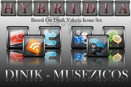DINIK - Valeria - Hybridia - Набор иконок