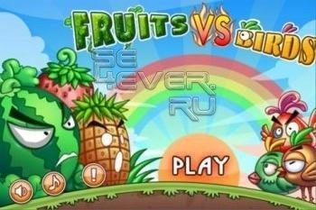 Fruits vs Birds - игра для Android