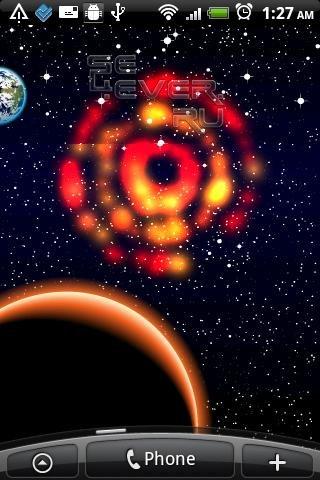 DIY Your Galaxy Live Wallpaper-живые обои для ANDROID
