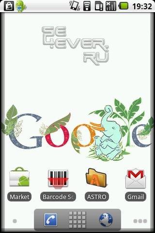Google Doodle-живые обои для ANDROID