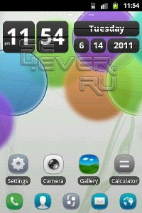 2 Темы для Go Launcher EX. Android