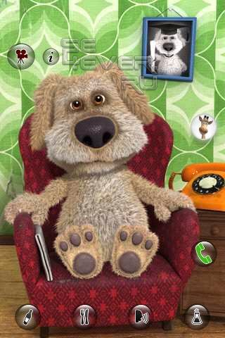 Talking Ben the Dog-приложение для ANDROID