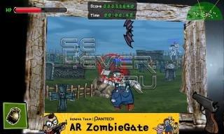 AR ZombieGate - игра на Андроид