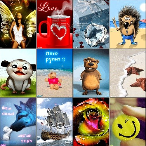 Amazing Animated Wallpapers for mobile. Part 41