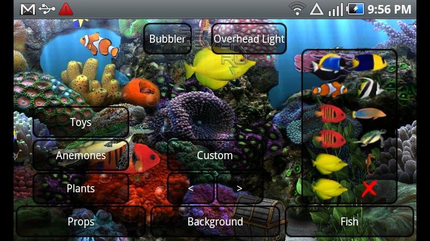 обои аквариум скачать бесплатно: