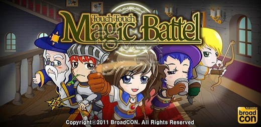 Touch Touch Magic Battle - Игра для Android