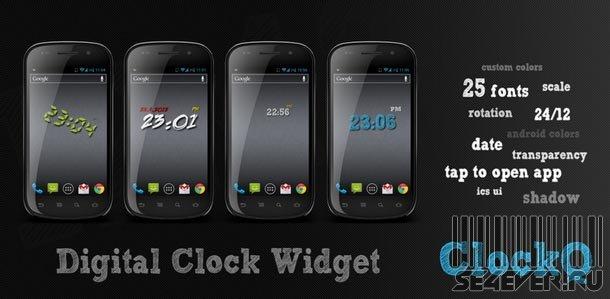 ClockQ pro - Виджет часов на Android