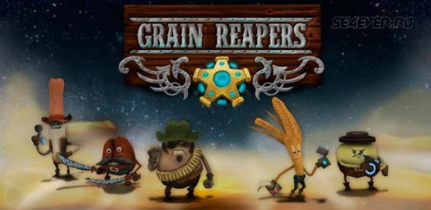 Grain Reapers - Пошаговая стратегия в 3D