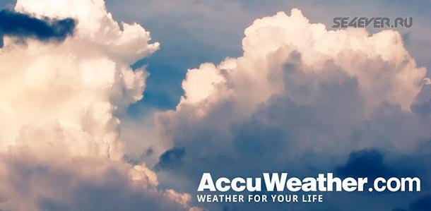 AccuWeather Platinum - Погода на Android
