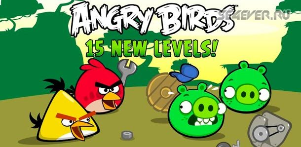 Angry Birds - Android игра