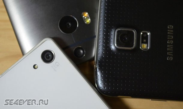 ����������: Xperia Z2 vs. HTC One M8 vs. Galaxy S5 vs. LG G Pro 2