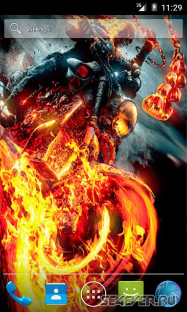 Ghost Rider 2 Live Wallpaper