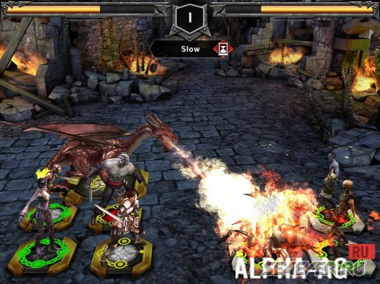 Heroes of Dragon Age на Android платформе