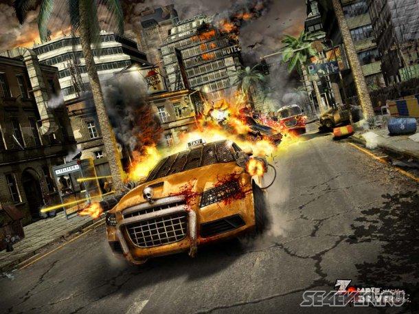 Zombie Taxi для Android: армия зомби вновь атакует