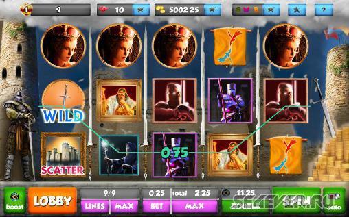 Игровой автомат Camelot в казино Вулкан Чемпион