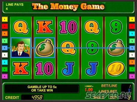 Игровой автомат The Money Game в казино Адмарал