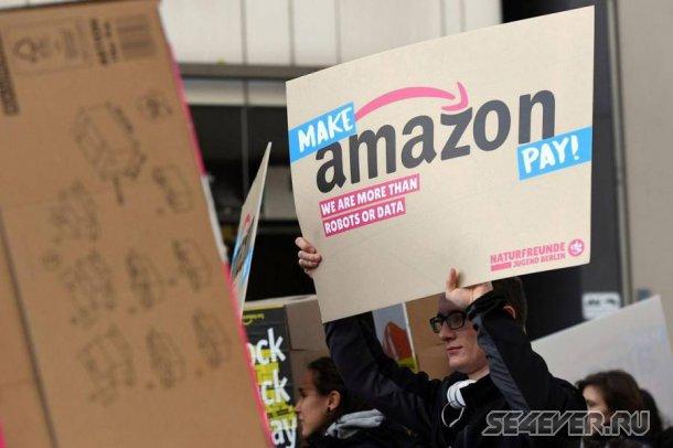 В Amazon следят за сотрудниками