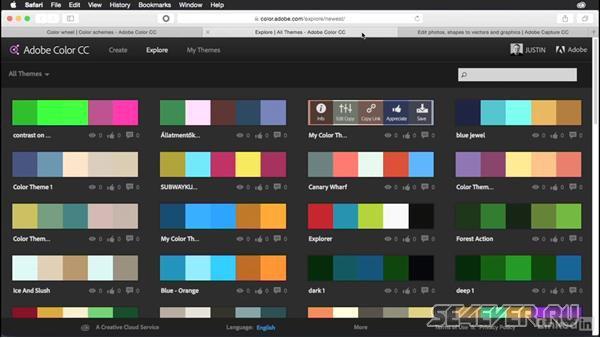 Adobe Kuler: карманный повелитель цвета