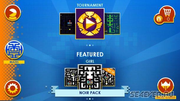 PAC-MAN +Tournaments - возвращение легенды